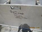 "pic 1 -- 3 - 50"" long , 4 hole double sided Stainless steel Vittetoe feeders - $160 each -"