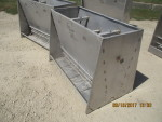 "pic 2 -- 3 - 50"" long , 4 hole double sided Stainless steel Vittetoe feeders - $160 each -"