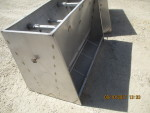 "pic 3 -- 3 - 50"" long , 4 hole double sided Stainless steel Vittetoe feeders - $160 each -"