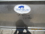 """Sold to Kevin in KY Pic 1 - 3 left  units . hog slat 70"""" Double sided - Stainless steel - $150 each"""