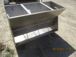 "pic 2 - 48"" Dbl sided 4 hole crystal spring wet dry feeder - 23"" wide by 31"" tall @ $140"