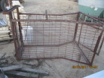 pic 7  - Sheep or Hog catch crate - I am not sure what they used this for -  $75