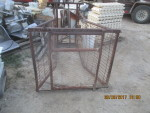 pic 6  - Sheep or Hog catch crate - I am not sure what they used this for -  $75
