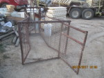 pic 5  - Sheep or Hog catch crate - I am not sure what they used this for -  $75