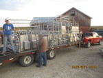 20 stainless crates to Preston iowa