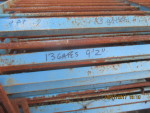 """13 gates  - 9ft 2 in by  34 1/2"""" tall are $45  each"""
