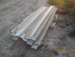 "pic 2  of 36 - 5"" rails that are 8 feet long at  $10 each"