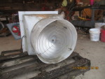 "Pic 4- 18"" fan - 220 volt - 1625 RPM  1/3 hp - $125"