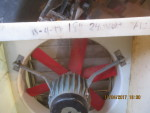 "Pic 1- 18"" fan - 240 volt -  $125 with shroud and shutter"