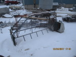 Basic farrowing crate with flip up sides $125