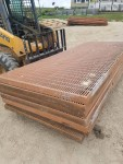picture 1  -- 11 - 4 by 10 orange self support floors  - $120 each