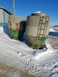 7 of these 60 bushel feeders  no top lids. I am looking into see what the cost will be - $325 each