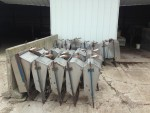 some left Stainless farrowing feeders with headgates. $40 each