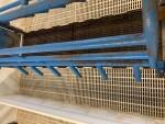 Vittetoe crates with flip up sides